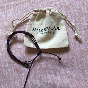 Maroon Pura Vida Rope Beach Bracelet